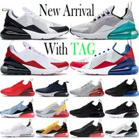max laufende trainer groihandel-Air Max 270 2020 Sommer Gradients Universität Goldregenbogen 270 Kissen Herren Turnschuhe Platinum 270s Sports Laufschuhe 27c Frauen Trainer Größe 36-45