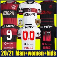 Wholesale uniforms shirts quick dry for sale - Group buy 2020 Flamengo soccer jersey DE ARRASCAETA GABRIEL Barbosa football shirts kids kit GERSON B HENRIQUE uniform Camisa Flamengo Feminina