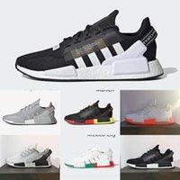 Wholesale xr1 nmd for sale - Group buy pHMGf Aqua Tones Munich NMD R1 V2 Mens sports shoes Running Shoes hu Human Race XR1 Pharrell Williams Core Black Men Women Sports Sneakers