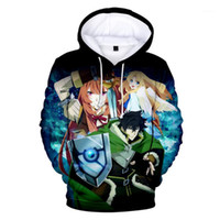 Discount long shields Hot sale 3D Anime The Rising Of The Shield Hero Hoodies Boys girls Spring Autumn Hoodie Cartoon Long Sleeve Kids Children Coats1