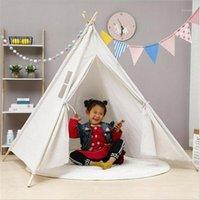 Mosquito Net Kids Portable Tents Princess Castle 160cm Children Teepee Indoors Tent