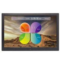 Wholesale blue digital photo frame for sale - Group buy Picture Frame Inch Digital Photo Frame with Wireless Remote Control Support SD Card USB EU PLUG