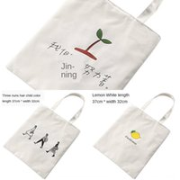 Wholesale primary books for sale - Group buy women s single shoulder Korean literature and art primary fresh students carry book sfold portable and environmental canvas bagSchoolbag ca