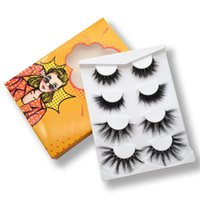 Wholesale hand book for sale - Group buy 2021 new come Real D mink eyelashes pairs set false eyelashes Book set mm eyelashes