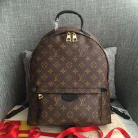 Wholesale spring handbags resale online - LV LOUIS VUITTON PALM SPRINGS Backpack Women Leather Handbags Fashion Shoulder Bags Messenger Bags School Bag Totes L4