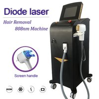 Wholesale hair tones resale online - frozen head diode laser hair removal Soprano Laser nm hair removal diode laser all skin tones available