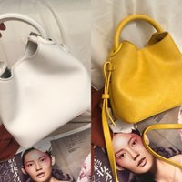 ingrosso piccoli secchi bianchi-RkdpU X63d9 2020 new Women's ins fashionable trendy white Shoulder strap Small bag small bagmessenger shoulder portable bucket bag summer