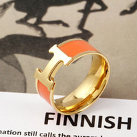 Wholesale black rose gold ring for sale - Group buy Couple classic hollow ring narrow version rose white gold pseudo gold material party engagement ring gift box