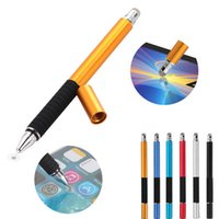 Wholesale finest tablets for sale - Group buy Multifunction In Fine Point Round Thin Tip Touch Screen Pen Capacitive Stylus Pen For Smart Phone Tablet For IPad