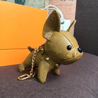 Wholesale Keychains Fashion Key Buckle Purse Pendant Bags Dog Design Doll Chains Key Buckle Keychain Color Top Quality