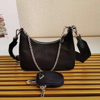 Wholesale matching handbags wallets resale online - TOP Designer Bags Nylon Waistbag Chest Bag Purse Match Fabric Tote Handbags Wallet Belt Tote Parachute Fabric Bag Crossbody Purse