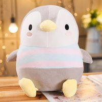 Wholesale penguin soft toys resale online - 30 cm Soft Fat Penguin Plush Toys Staffed Cartoon Animal Doll Fashion Toy For Kids Baby Lovely Girls Christmas Birthday Gift wmtqsk