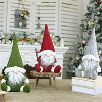 Wholesale doll window for sale - Group buy Faceless Old Man Window Decoration Christmas Decoration Nordic Style Decorative Doll Handmade Santa Cloth Doll DHE2433