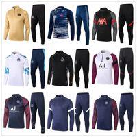 Wholesale s football jackets resale online - top mens football tracksuit soccer training suit jacket men training survetement foot chandal futbol tuta jogging