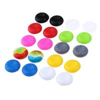Wholesale controller thumbstick grips resale online - Consumer Electronics Rubber Silicone Cap Thumbstick Thumb Stick X Cover Case Skin Joystick Grip Grips For PS2 ONE Controller