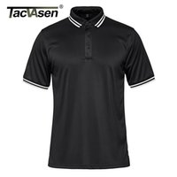 Wholesale golf works resale online - TACVASEN Short Sleeve Polo Shirts Mens Button Down Team Work Golf Polo Tee Shirt Fashion Casual Business Polos T shirt Tops Man