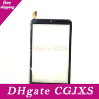 Wholesale tablet 8 inches resale online - Touch Screen Panel Digitizer For Dp080686 F2 A Inch Made In China Tablet Replacement Parts Black Quality Warranty