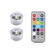 Wholesale led lights for lamp vase for sale - Group buy Xsky Submersible Led Lights Waterproof Night Lamp Remote Controller Battery Powered For Tea Light Vase Party Decor Light sqcFeA pp2006