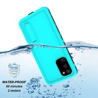 Wholesale galaxy s10 case with screen protector online – Redpepper IP68 Waterproof Diving Swimming Shockproof Case With Screen Protector For iPhone Mini Pro Max Samsung S20 Plus Ultra