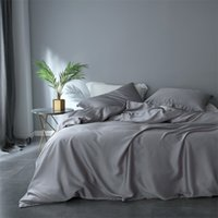 Wholesale silk tencel duvet covers for sale - Group buy Women Luxury Pink Bedding Set Double sided Tencel Healthy Duvet Cover Set Queen King Bed Linen Home Textile