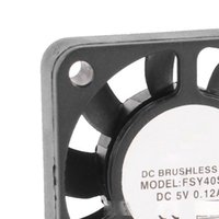 Wholesale 2pin fan resale online - Computer Office PROMOTION mm x mm A Pin V DC Brushless Sleeve Bearing Cooling Fan
