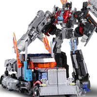 Wholesale WEIJIANG Anime Action Figure Toys CM Big Transformation G Alloy Robot Car Truck Model Deformation Movie Toys Boy Kids Gift