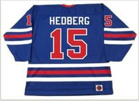 Wholesale hockey 5xl resale online - Custom Men Youth women Vintage ANDERS HEDBERG Winnipeg Jets WHA Hockey Jersey Size S XL or custom any name or number