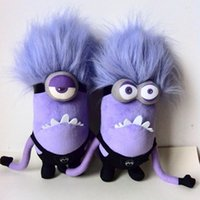 Wholesale despicable toys for sale - Group buy Purple Minions Plush Doll Despicable Me Same Oaragraph Fun Stuffed Toys ChildrenChildren s Peluche Gift