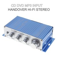 Wholesale mp3 player audio input resale online - Hi Fi Car Stereo Audio Amplifier Auto Vehicle Motorcycle Music Player Cd Dvd Mp3 Input Rms w w Cec _802