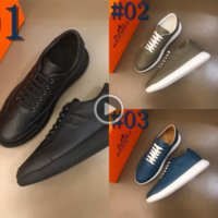 Wholesale footwear for mens resale online - 1SxVV New Youth Casual Footwear For Luxury Men Spring Casual Shoes Big Boy Fashion Luxury Shoes For Mens Designer Man Leather Sneake