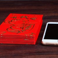 Wholesale chinese red envelopes for sale - Group buy HOT Chinese Red Envelopes Chinese Mouse Year Lucky Money Packets Red Packet TI99