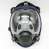 Wholesale full face spray mask for sale - Group buy Full Face Mask for Gas Mask Full Face Facepiece Respirator for Painting Spraying