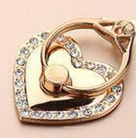 Wholesale ring holder smartphone online – 360 Degree Mobile Phone Stand Holder Heart Mirror For Huawei All Phone Finger Ring Mobile Smartphone Phone Holder Stand