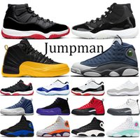 Wholesale Basketball Shoes Jumpman s Bred th Anniversary Concord s University Gold s Flint Hyper Royal Mens Womens Sneakers Size