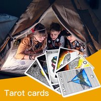Wholesale playing cards animals resale online - 63pcs Tarot Cards Table Games Animal Spirit Tarot Card Family Party Playing Cards English Tarot Game Cards Board Games Set bbyuIe homebag