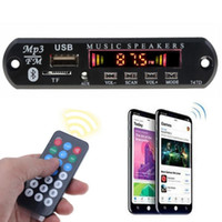 Wholesale MP3 Player Decoder Board TF USB mm AUX Module Car Kit Audio Bluetooth Receiver For XS MI