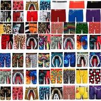 brands Mens Boxer Shorts Designers Underwears Boxers Luxurys Briefs Catoon Shark Face Mouth Sports Beach Shorts Bathing Swim Trunks D82502