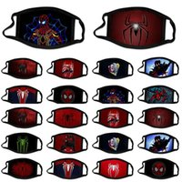 ingrosso volto dell'uomo di ragno-Maschera MyHome001 Cotton Spider Homecoming 3D Designer riutilizzabile equitazione WFCLW Face Door Stampa 2 Man Out Fashion Masks Sport Ohvke