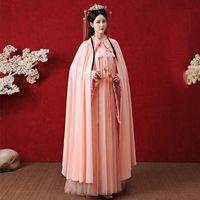 Wholesale fairy cloak for sale - Group buy Hanfu Women Ancient Han Dynasty Princess Clothing Female Chinese Style Fairy Dress Cloak Elegant Sunscreen Hanfu Cloak SL4160