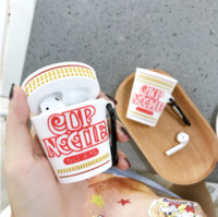 Wholesale apple cups for sale - Group buy For AirPod Case Cute D Instant Cup Noodles Cartoon Soft Silicone Wireless Earphone Cases for Apple Airpods Case Cover Capa