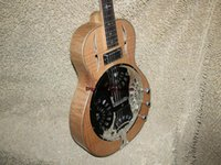 Wholesale dobro guitar for sale - Group buy Custom Wood Dobro Electric Guitar High Quality Electric Guitar