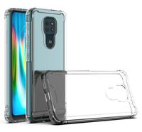 Wholesale chinese g9 for sale - Group buy 2 in Clear Acrylic TPU Airbag Shockproof Case For MOTO E6 E7 E5 Play Go G7 G8 Power Lite G6 Z3 P30 G Stylus G Plus E6S G9 Plus One Fusion