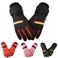 Wholesale drop gloves resale online - Women Keep Warm Winter Mountaineering waterproof Motorcycle Riding Ski Gloves Mitten Windproof Gloves Slip Warm Glove drops