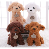 Wholesale light toys for babies for sale - Group buy 20CM Small Puppy Stuffed Plush Dogs Toy White Orange Light Brown Soft Dolls Baby Kids Toys for Children Birthday Party Gifts