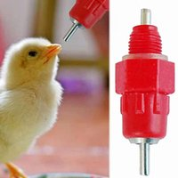 Wholesale feeding chickens for sale - Group buy 5Pcs Chicken Water Drinking Feeder Poultry Water Drinking Nipples BuJoint Water Dispenser Automatically Feed