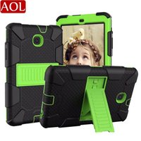 Wholesale shockproof samsung galaxy 9.7 tablet cases resale online - Armor Tablet Case For Samsung Galaxy Tab A T307 T387 T290 T510 Kids Safe Shockproof Heavy Duty Hard Cover