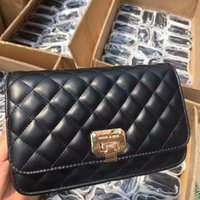 Wholesale cell phone traces for sale - Group buy Small CK small diamond lattice women s chain Single Messenger bagshoulder Bag shoulder bagBag with no trace of strength YlUzQ