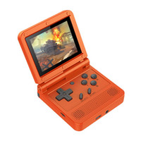 Wholesale 64 game system for sale - Group buy Powkiddy V90 Handheld Game Console Inch Screen Bit Built In Games Open Ce Linux System Vedio Game Console bbyhPR yhshop2010