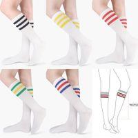 Wholesale calf high socks resale online - nAojk knee length Shilong knee high fitness calf calf Gesighted GE sports yoga running socks cheerleadingstyle socks foFls