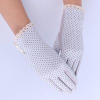 Wholesale sunscreen gloves for driving for sale - Group buy Women Sun Protection Glove New Fashion Summer Autumn Driving Slip resistant Sunscreen Golves For Lady